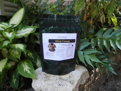 feline instincts whole carcass raw meat diet premix bag
