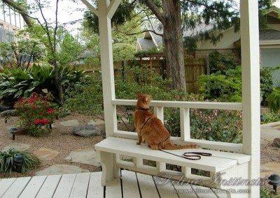 King Tut in his Garden